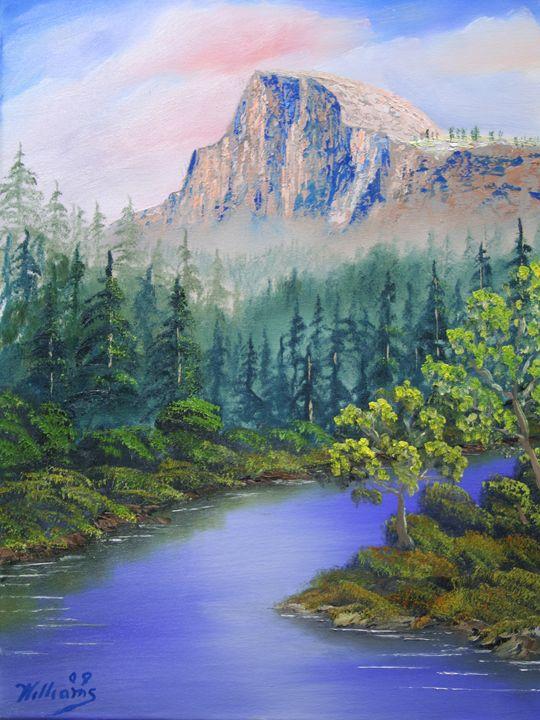 Half Dome Yosemite Grandeur - Wm Williams Fine Art