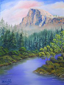 Half Dome Yosemite Grandeur