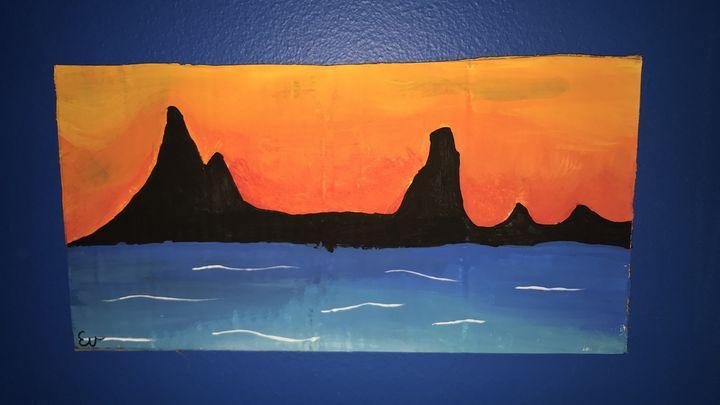sunset beach - Ev jones