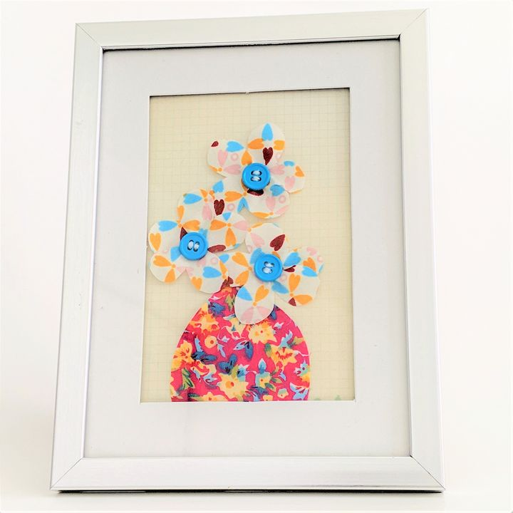 Candy Sprinkle Yellow and Blue - Lienka Frames