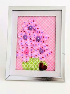 Bubblegum Pink Flowers