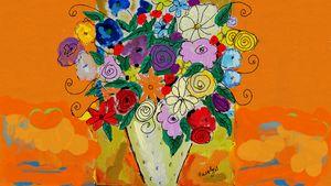 lovely Flowers - CAROLYN SCHUSTER