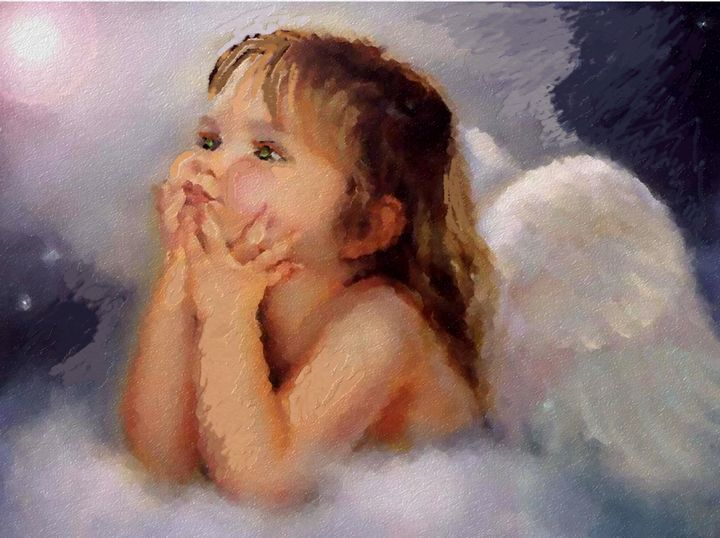 angel child - CAROLYN SCHUSTER