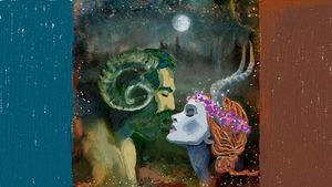 The Ram and the Antelope - CAROLYN SCHUSTER