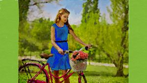 a ride on my bicycle