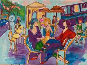 A day of Culture - CAROLYN SCHUSTER