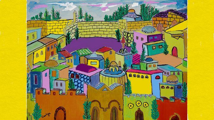 Jeruselum - CAROLYN SCHUSTER