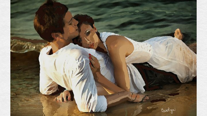 Love at the Beach - CAROLYN SCHUSTER
