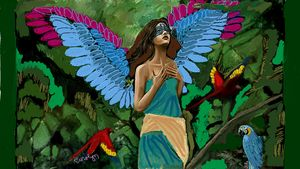 Angel in the Jungle - CAROLYN SCHUSTER
