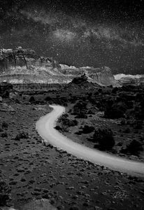Midnight in Canyonlands, Utah - Rick Nye's Art On Canvas