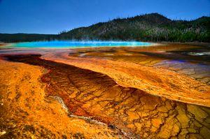 Yellowstone Pond - Rick Nye's Art On Canvas