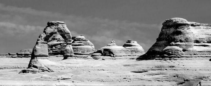 Delicate Arch, Moab, Utah - Rick Nye's Art On Canvas