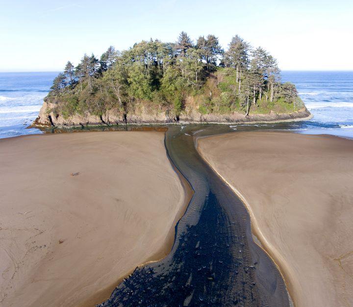 Proposal Rock, Oregon Coast - Rick Nye's Art On Canvas