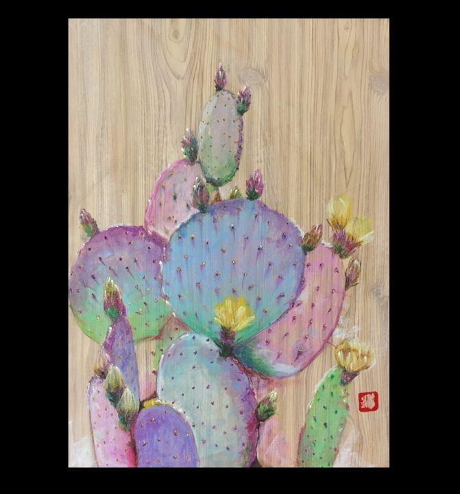 Cactus #1 - Leesa Pertsinidis Fine Art
