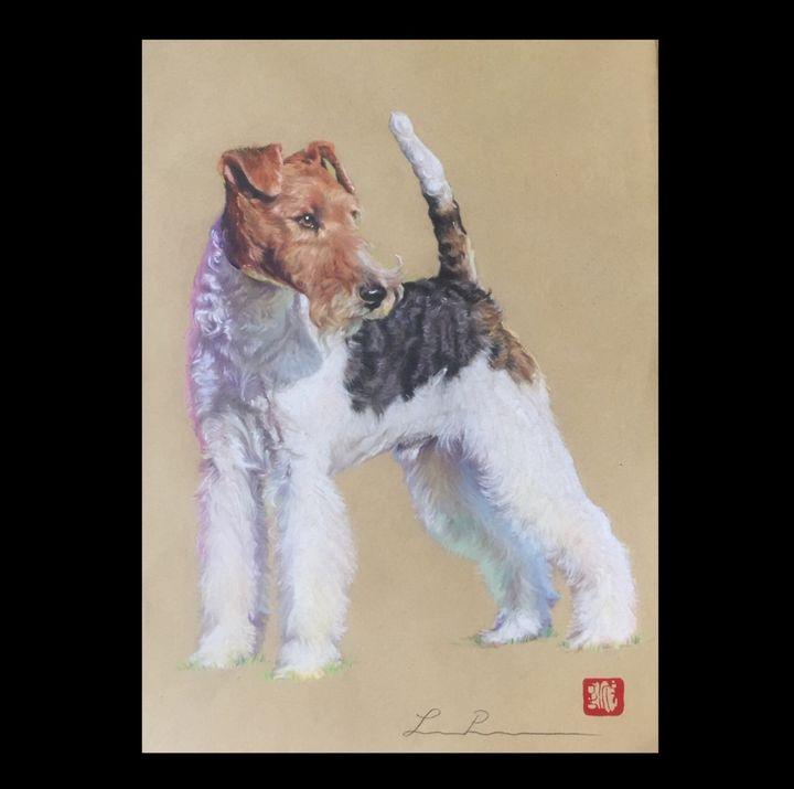 Show Fox (Jack) - Leesa Pertsinidis Fine Art