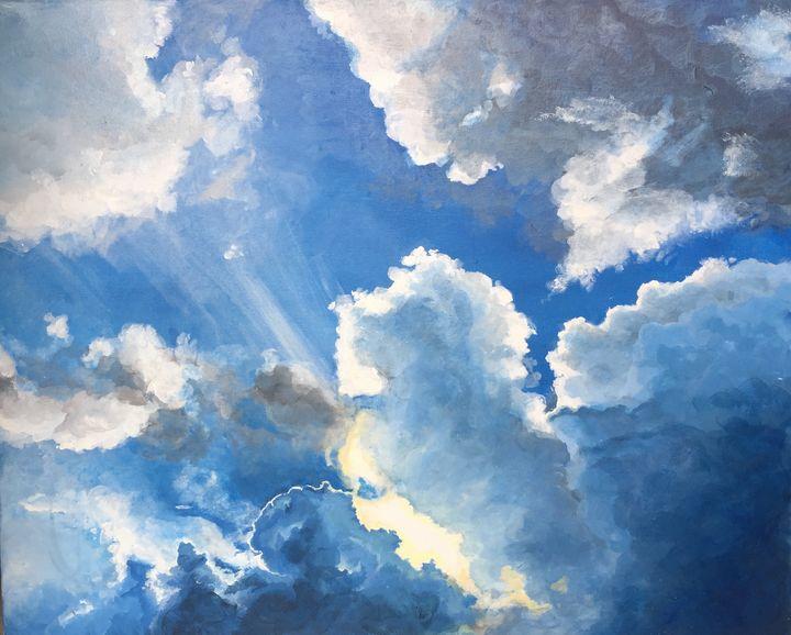 Storm clouds - Leesa Pertsinidis Fine Art