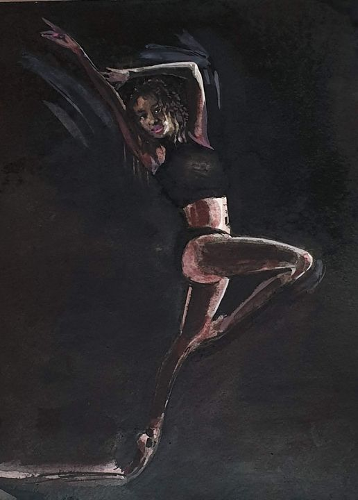 Dancing Girl 2 - aniazmand