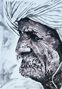Bearded Afghan Man 4