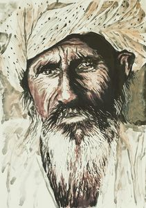 Bearded Afghan Man 5