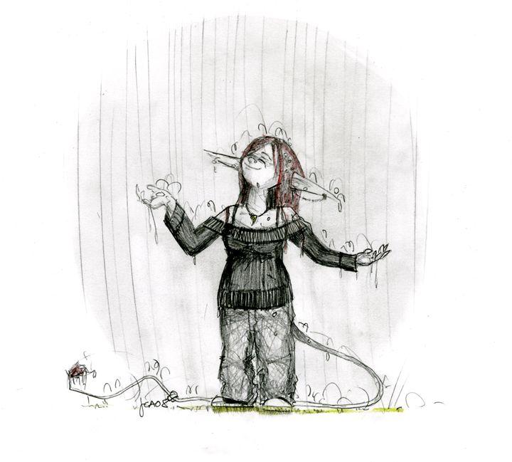 Rain - A Trolling Suffragette