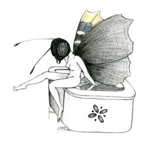 Butterfly-girl