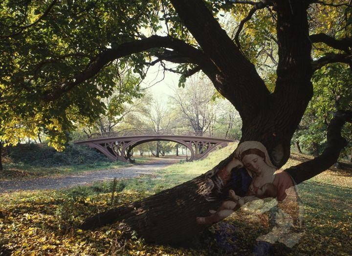 Behind The Tree - Tina Mancusi