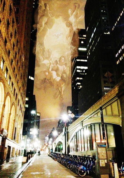On A City Side Street - Tina Mancusi