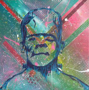 Frankenstein Pop - Diego E. Garcia Art Gallery