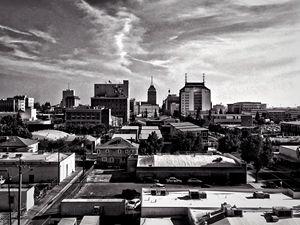 Downtown Fresno sideways