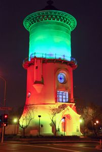 Fresno Water tower