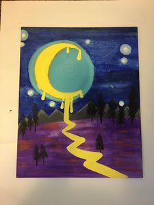Recreation melting moon