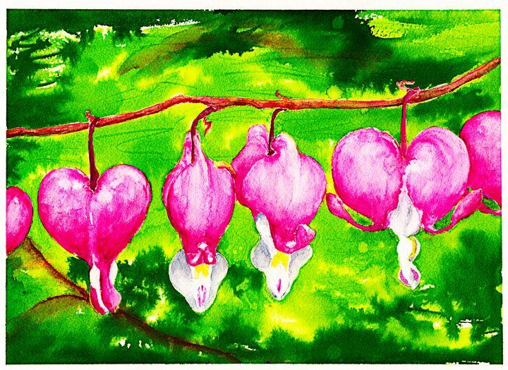 Hanging Flowers - Bobology