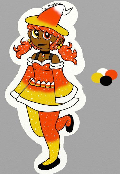 Princess Candy Corn - Ciya's Work