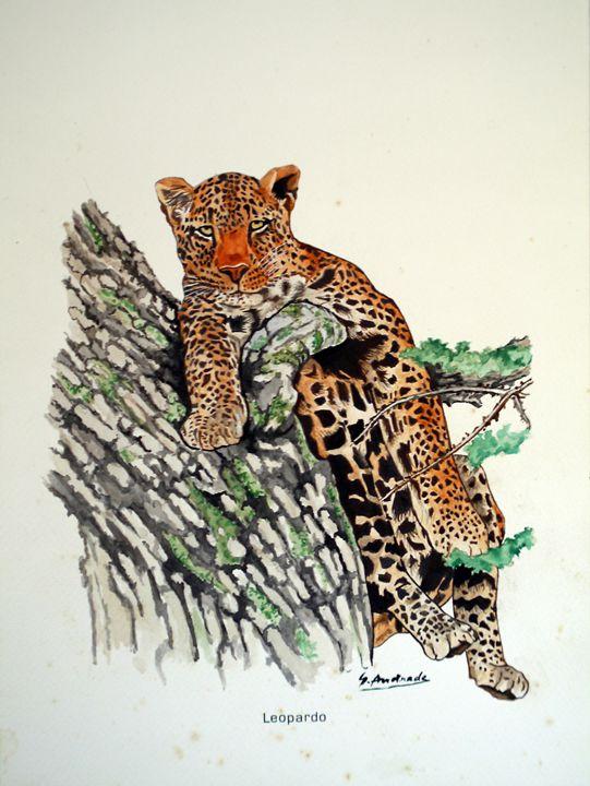 Leopard - José De Andrade artworks