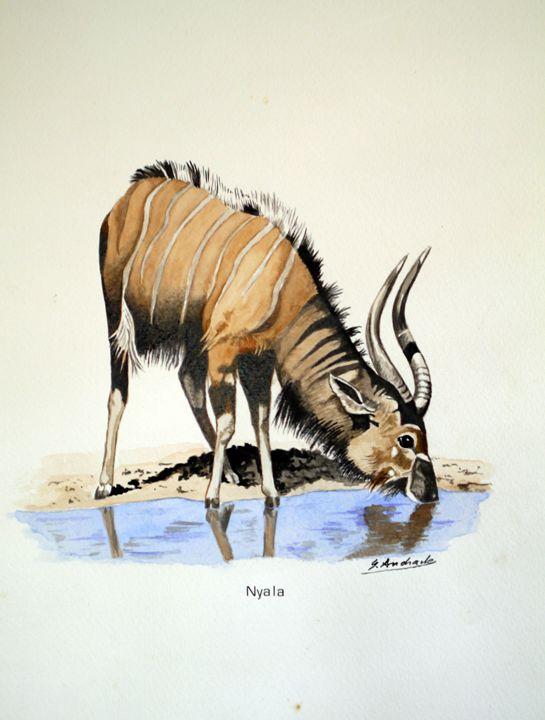 Antelope - José De Andrade artworks