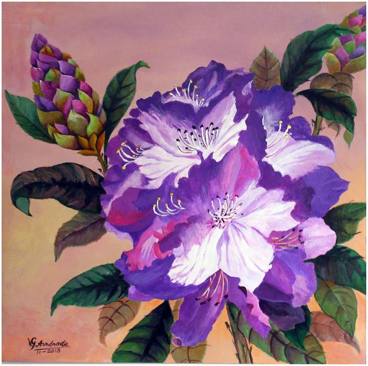 Rhododendron - José De Andrade artworks
