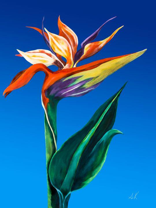 Bird of Paradise - Albert Kopper