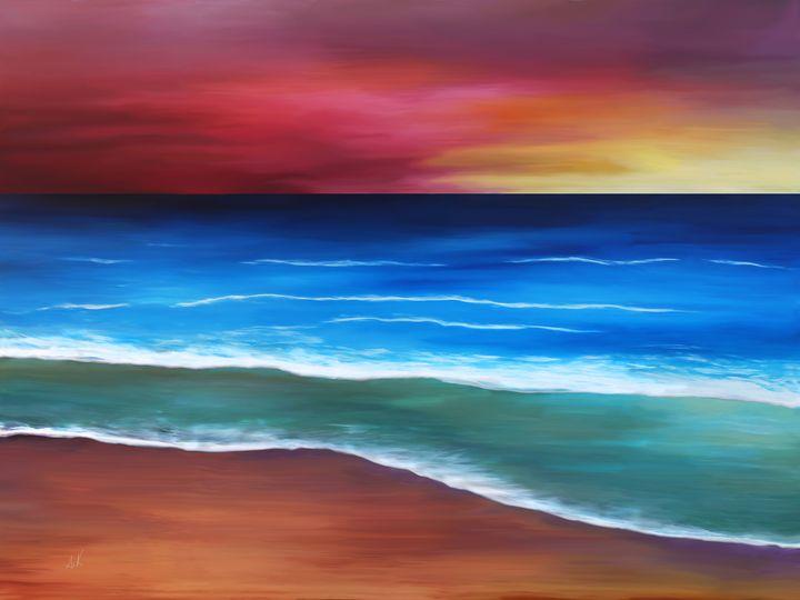 Evening Tide - Albert Kopper