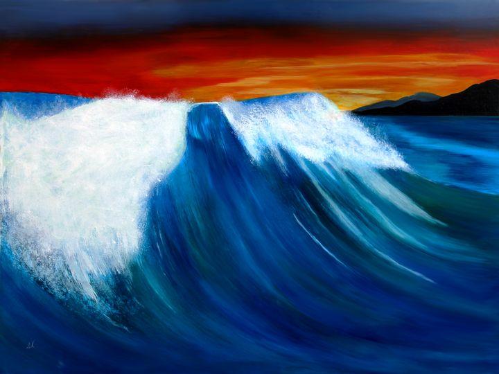 Rolling Wave - Albert Kopper