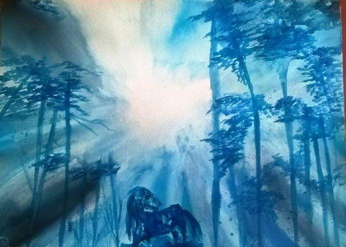 Helhest - Psijique Watercolors