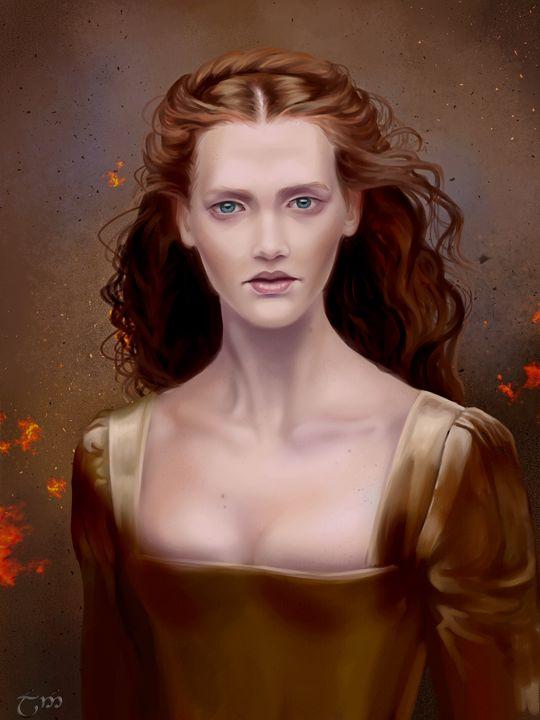 Lady Brown - drawulan