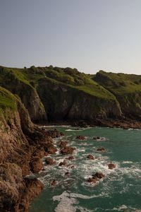 The Cliffs of Devils Hole