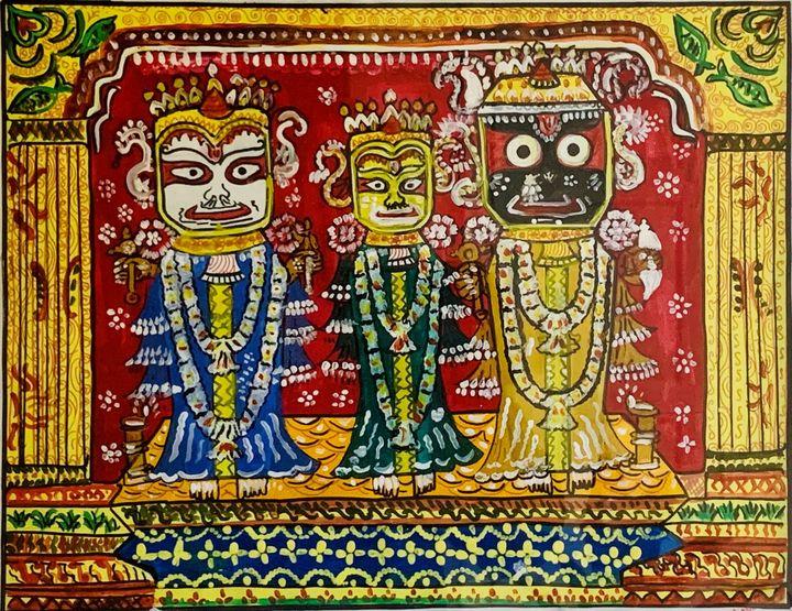 lord Jagannath - SS Art Studio