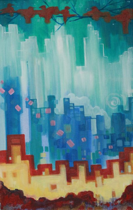 city in the sky - Paula Anne Sommers