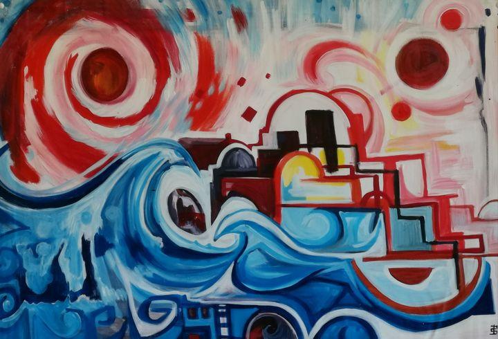 cosmic tide - Paula Anne Sommers
