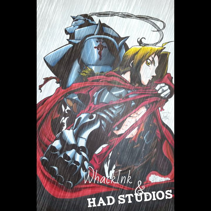 Fullmetal Brothers - WhackInk's Art House