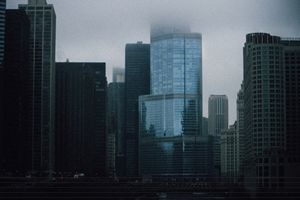 Foggy Chicago