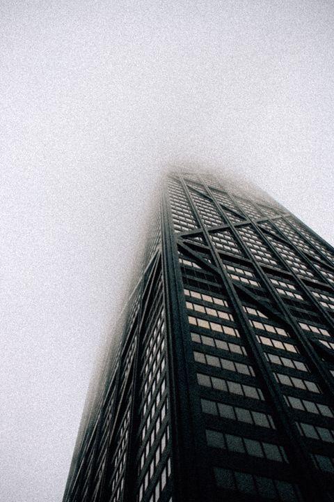 John Hancock Building Fog - Torrin Nelson Photography