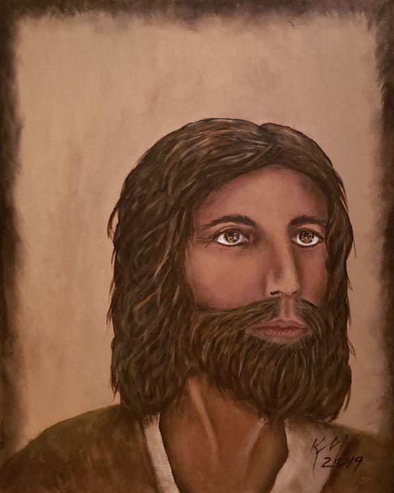 Painting Jesus - Kathlene melvin