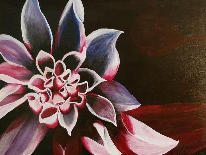 Red flower - Kathlene melvin